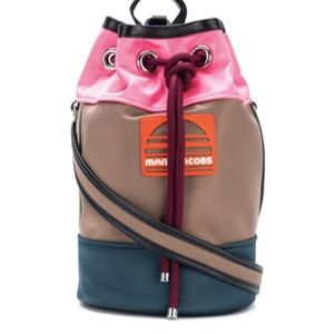 NWT Marc Jacobs Sling Colorblock Backpack Bag